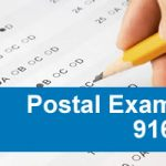 Postal 916 Exam – Custodial Maintenance Exam- Postal Custodians